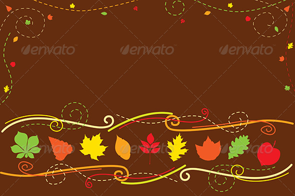 Autumn Background - Backgrounds Decorative