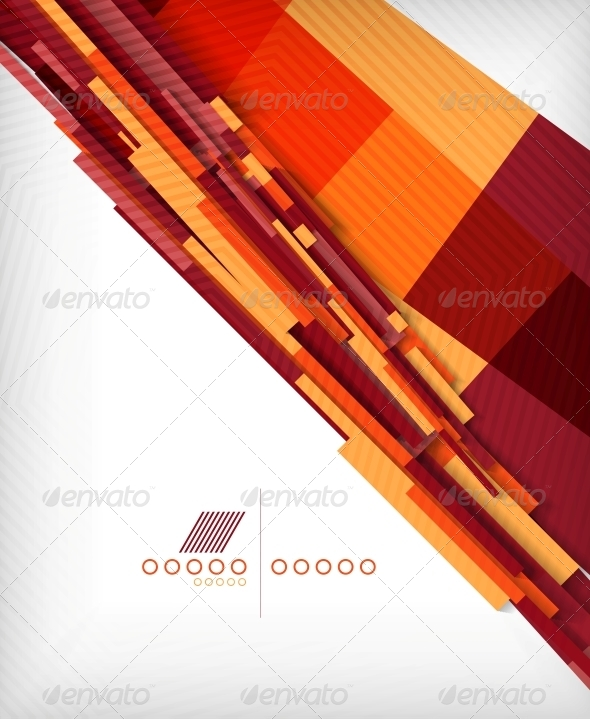 Straight Lines Geometric Shape Background - Backgrounds Business