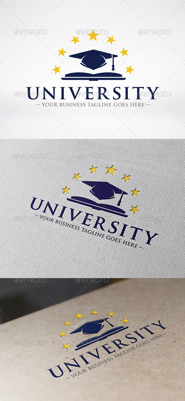 University Logo Template - Objects Logo Templates