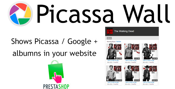 Prestashop PicassaWall - CodeCanyon Item for Sale