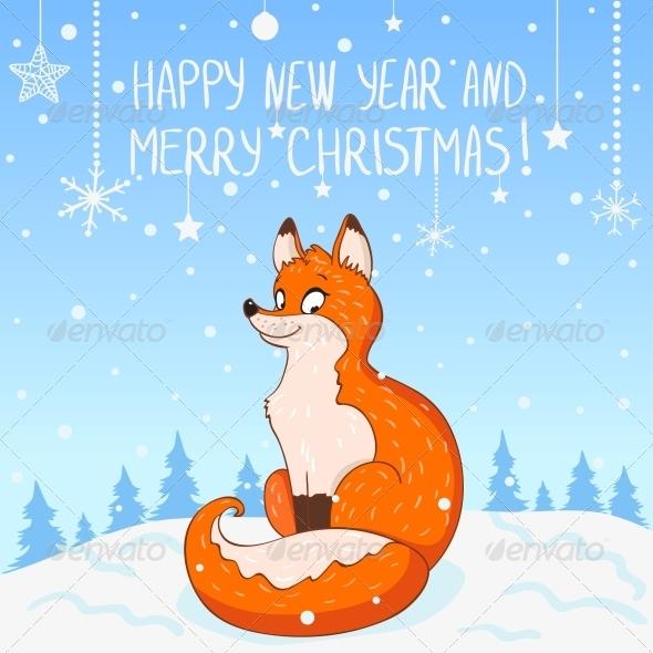 Fox New Year - Christmas Seasons/Holidays