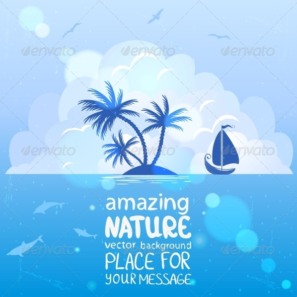 Island  - Travel Conceptual