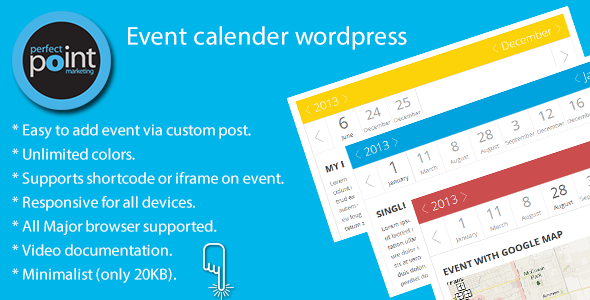Event calender wordpress - CodeCanyon Item for Sale