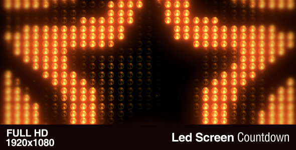 led screen count down by template fx videohive