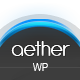 Aether - Single-Page Wordpress Theme Nulled