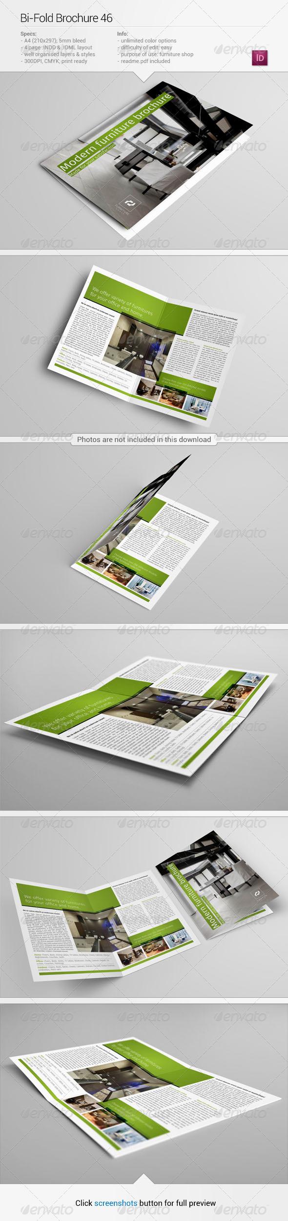 Bi-Fold Brochure 46 - Informational Brochures