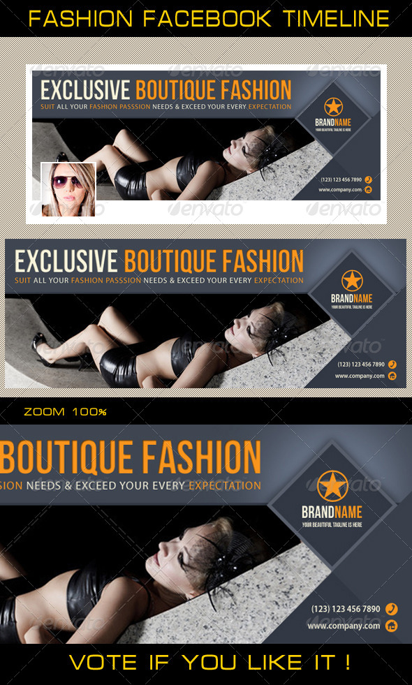 Fashion Facebook Timeline 03 - Facebook Timeline Covers Social Media