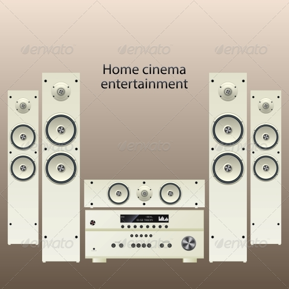 Home Cinema Speaker System - Media Technology