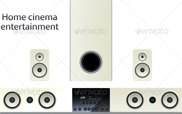 Home Cinema Speaker System - Media Technology