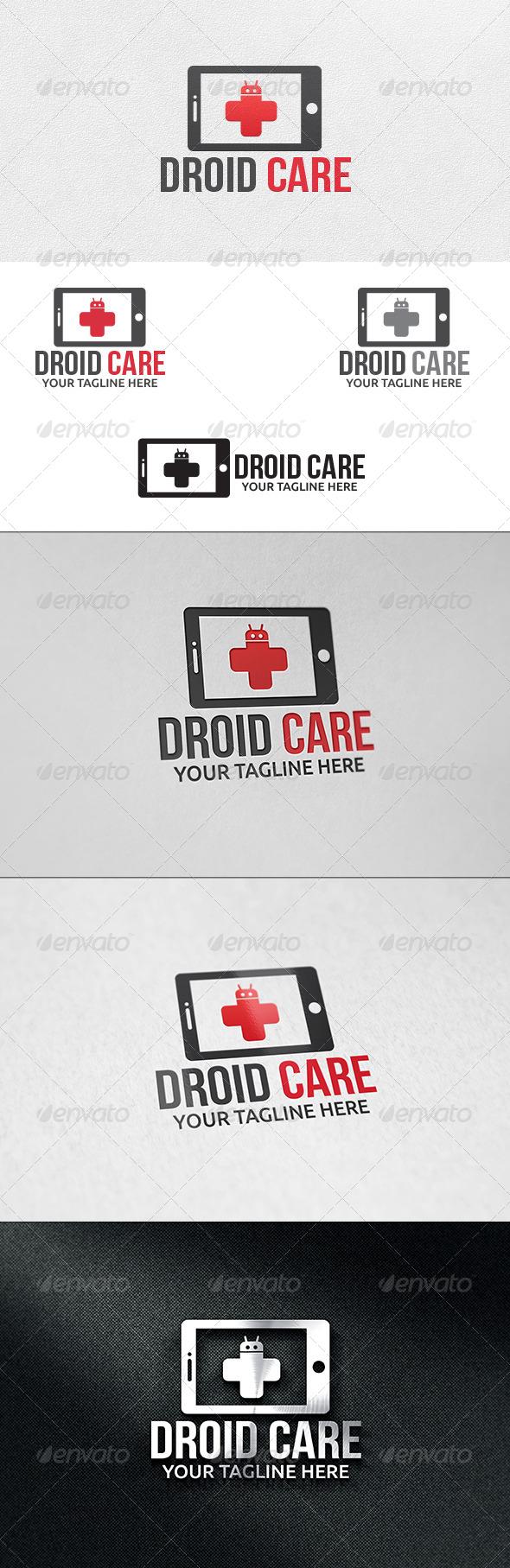 Mobile Care - Logo Template - Symbols Logo Templates