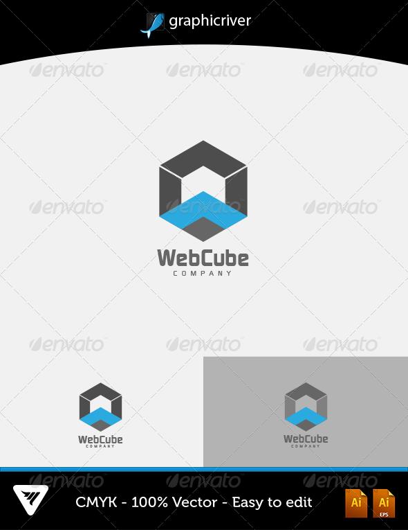 Web Cube Logo - Logo Templates