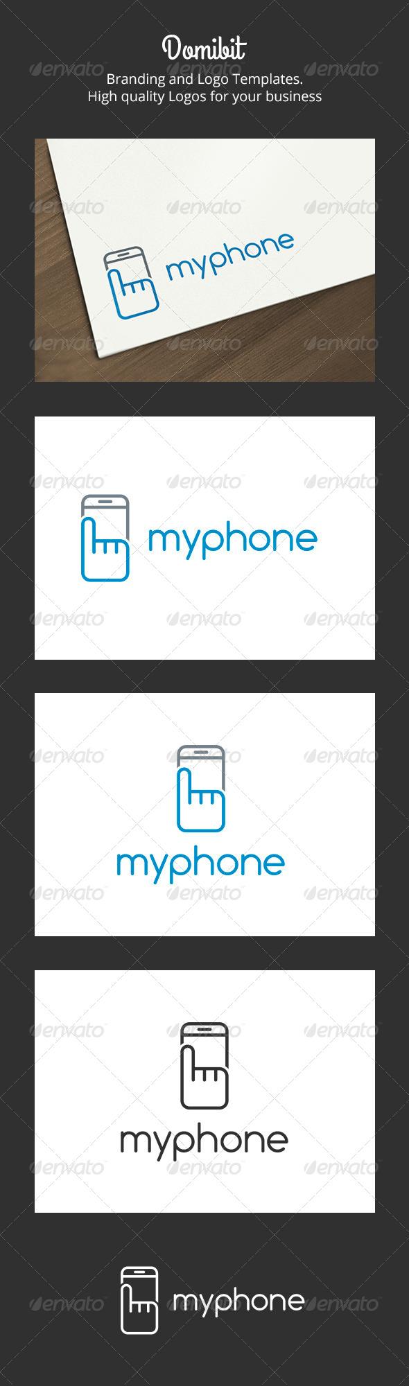 My Phone Logo - Objects Logo Templates