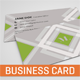 Geometric # Business Card - GraphicRiver Item for Sale