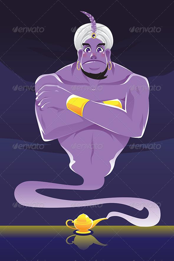Genie - Characters Vectors