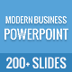 Modern Business Powerpoint Template - GraphicRiver Item for Sale