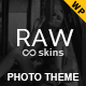 Raw - Responsive Photography WordPress Theme - ThemeForest Item for Sale
