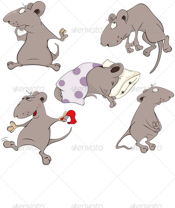 Mice Clip Art - Animals Characters