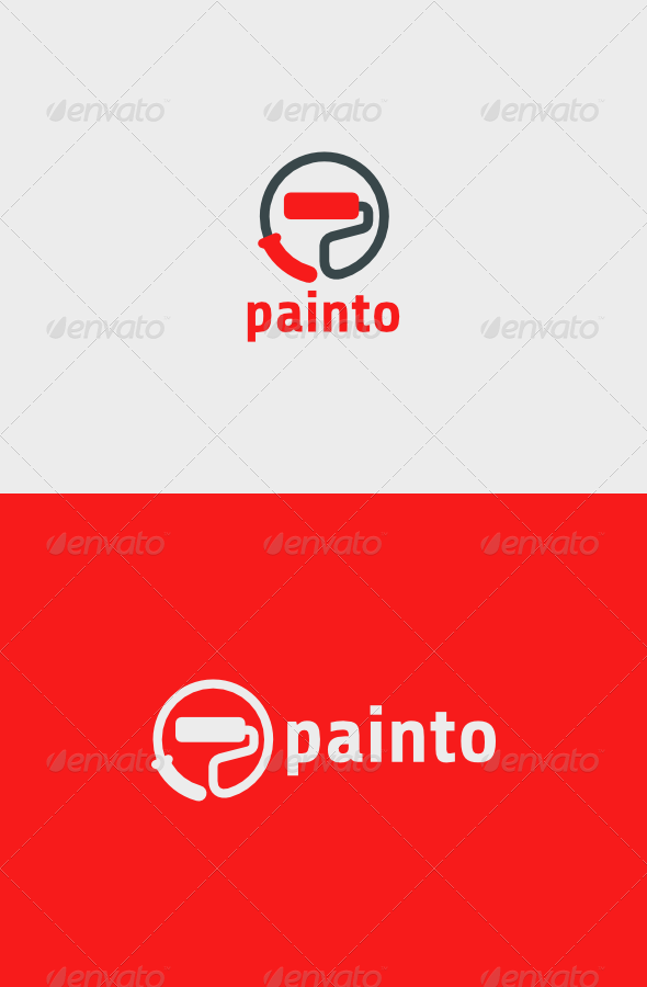 Painto Logo  - Objects Logo Templates