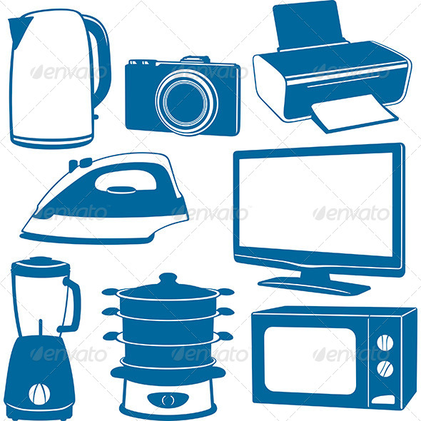 Electrical Appliances - Man-made Objects Objects