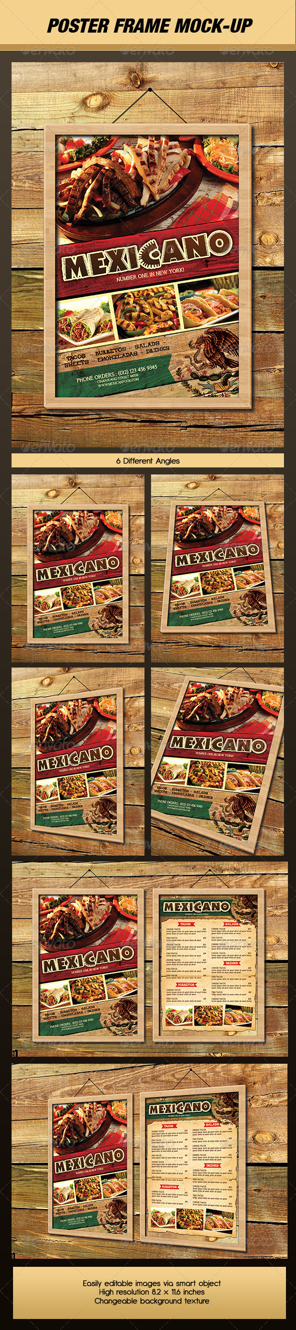 Poster / Picture Frame Mock-Up - Posters Print