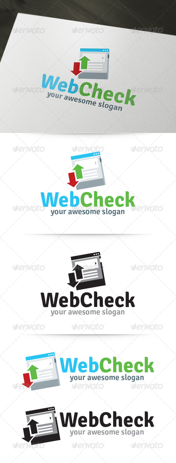 Web Check Logo - Logo Templates