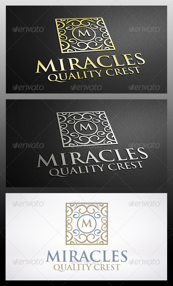 Miracle Crest Logo - Crests Logo Templates