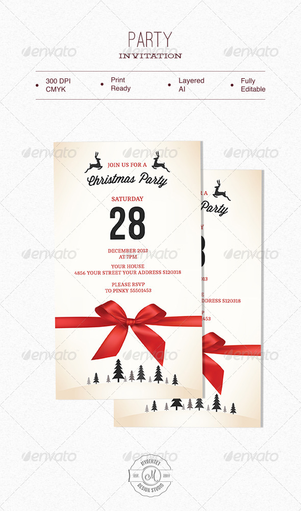 Party Invitation - Invitations Cards & Invites