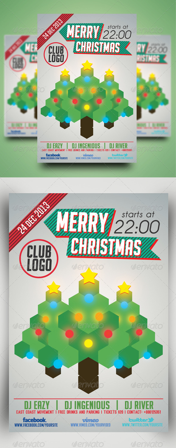 Minimal Flyer Vol.5 (Christmas) - Holidays Events