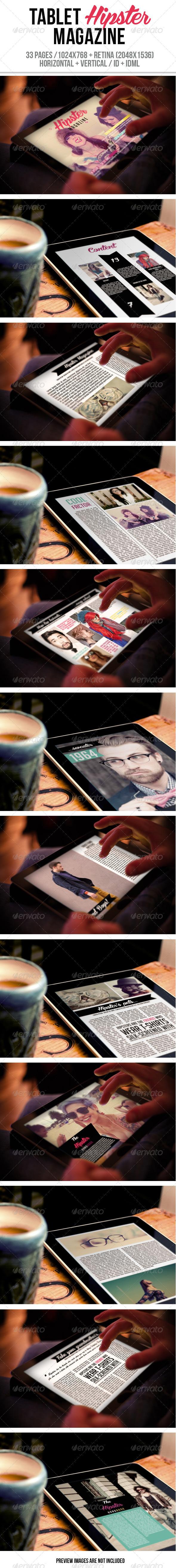 iPad & Tablet Hipster Magazine - Digital Magazines ePublishing