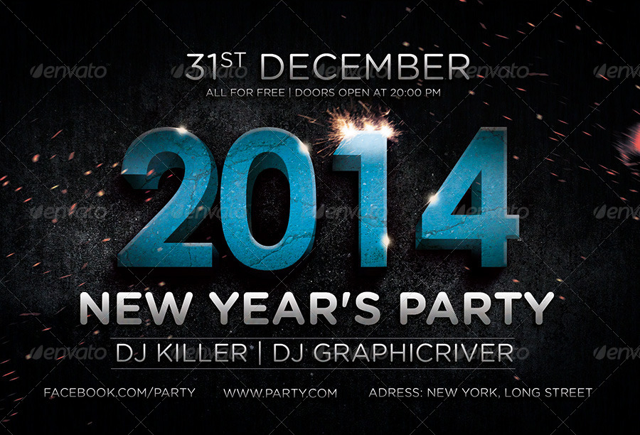 2014 New Year's Flyer
