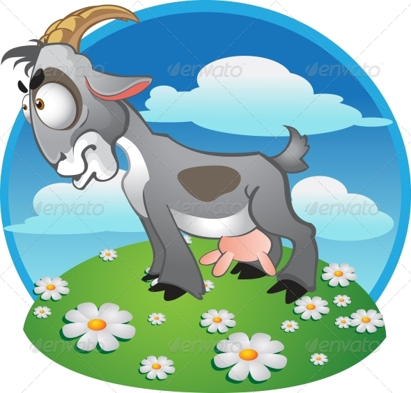 Goat Background - Animals Characters