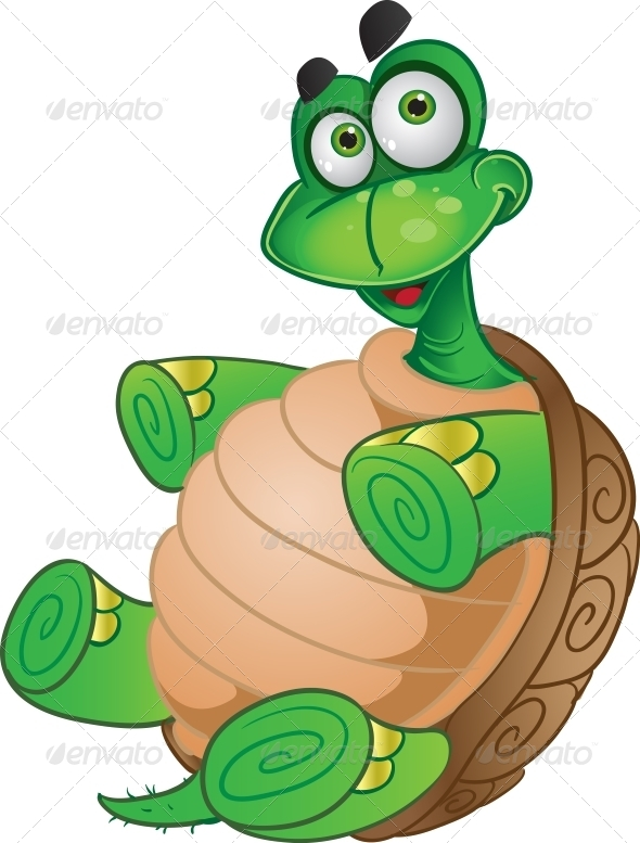 Tortoise  - Animals Characters