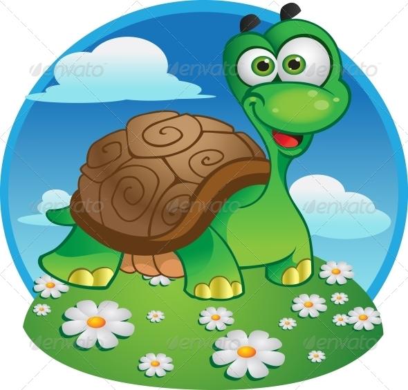Vector Tortoise - Animals Characters
