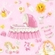 Seamless Pattern of Baby Girl Stuff - GraphicRiver Item for Sale