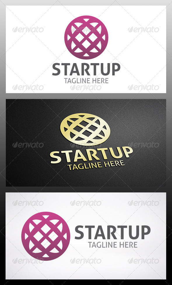 Startup Logo - Vector Abstract