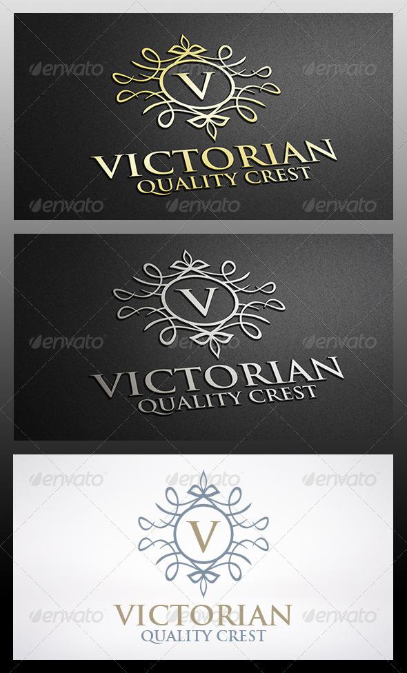 Victorian Logo - Crests Logo Templates