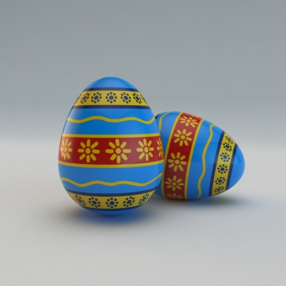 Easter Egg - 3DOcean Item for Sale