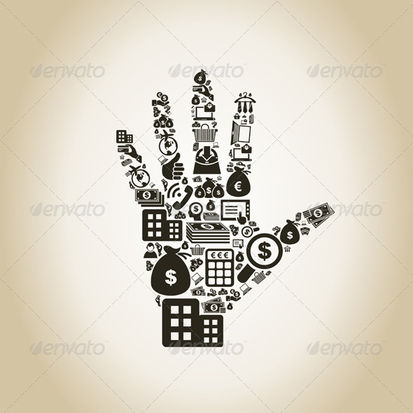 Business Hand - People Characters