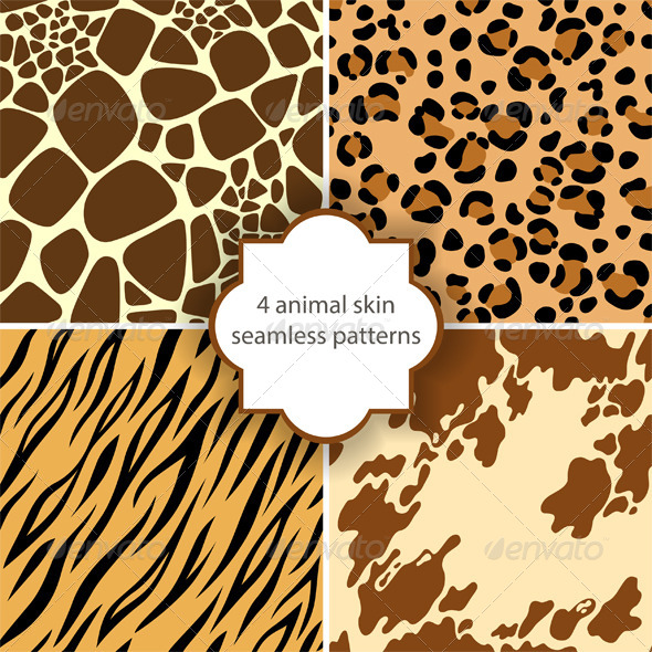 Animal Skin Seamless - Patterns Decorative