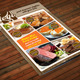 Flyer Food Menu Vol 1 - GraphicRiver Item for Sale