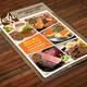Flyer Food Menu Vol 1 - GraphicRiver Item for Sale