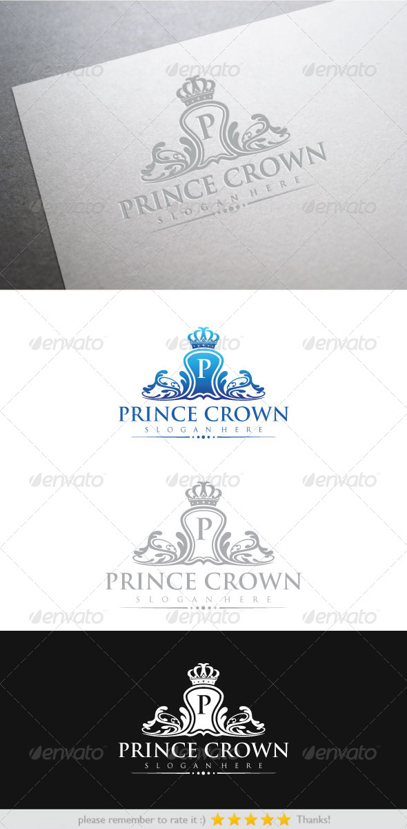 Prince Crown - Vector Abstract