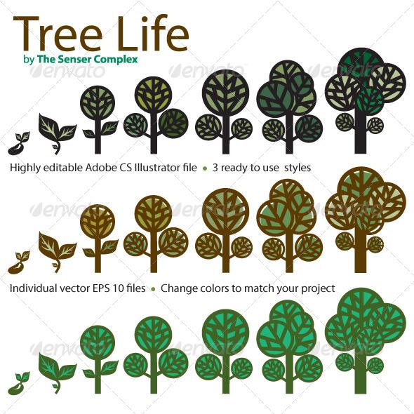 Tree Life - Nature Conceptual