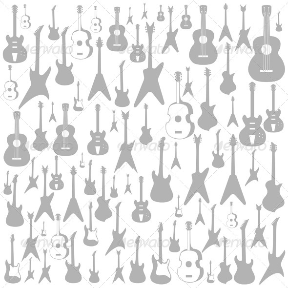 Guitar Background - Miscellaneous Vectors