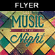 City Music Vintage Night | Flyer Template
