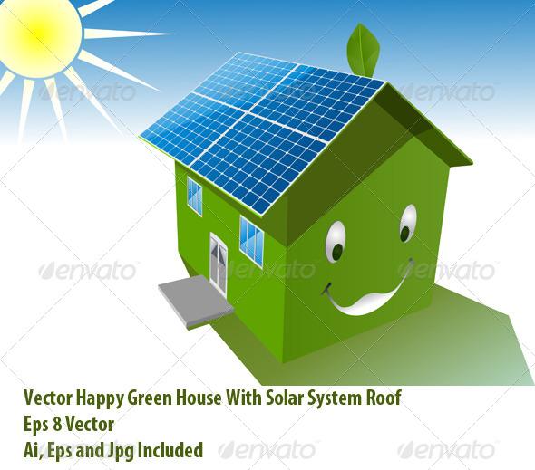 Solar House - Conceptual Vectors