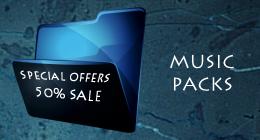 MUSIC PACKS. Sale 50% !!!