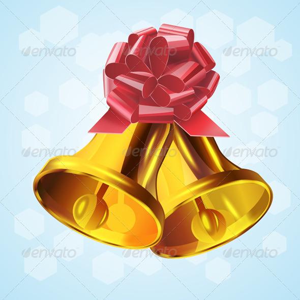 Christmas Bell.Vector  - Vectors