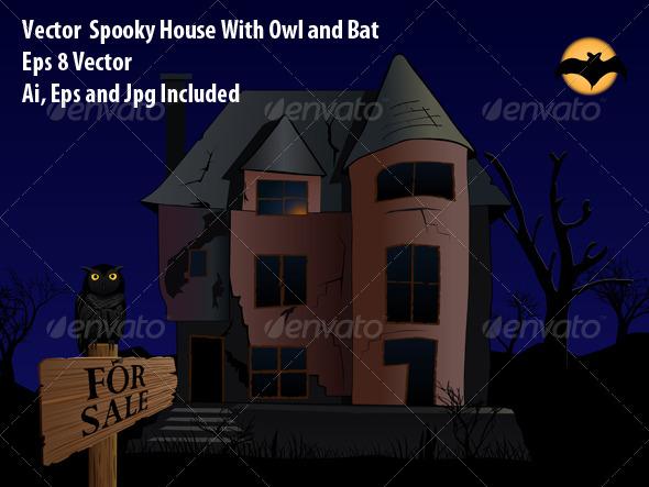Spooky House - Halloween Seasons/Holidays