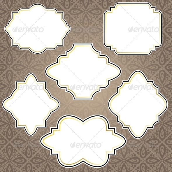 Vintage Frames - Decorative Symbols Decorative